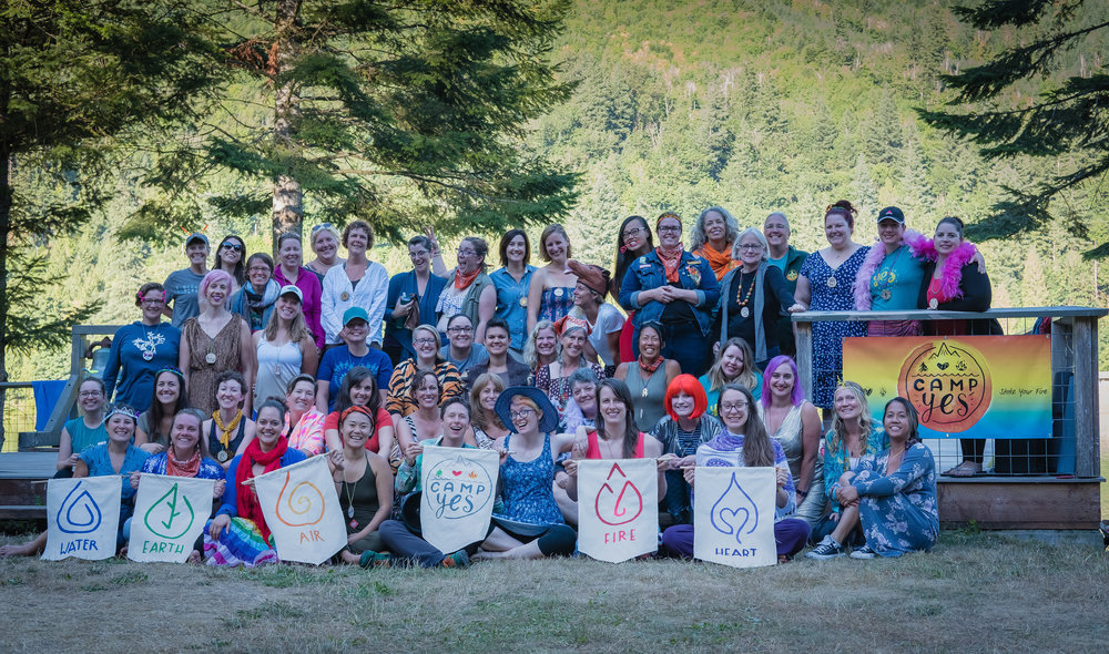 The first Camp Yes was held July 28-30, 2017!
