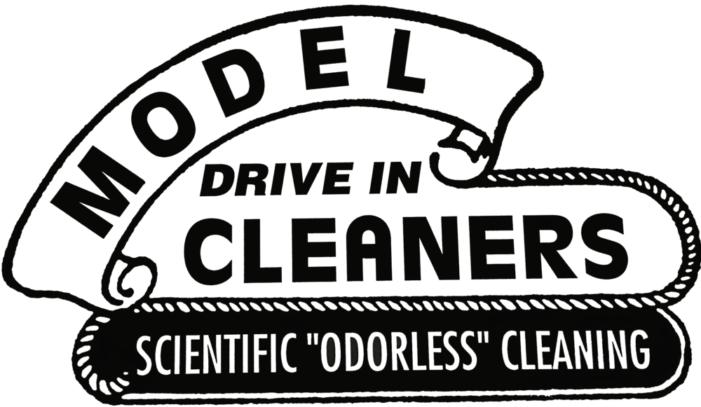 Model Drive In cleaners Logo