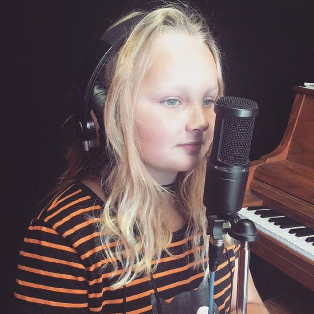 #Recording demos with Madison is #fun!  Come get yours! #NeighborhoodRockSchool #singer #vocals #vocalClass #talent #Burbank