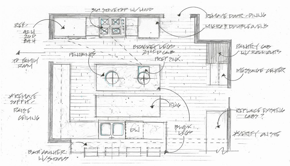 tami faulkner design best kitchen floor plan