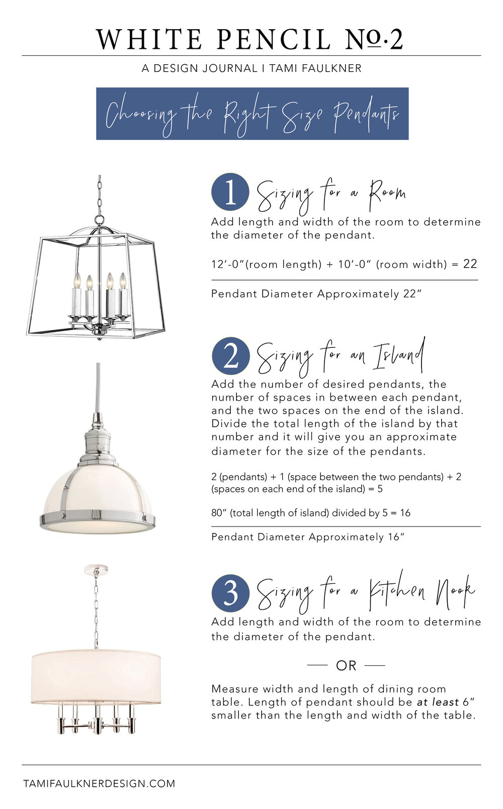 tami faulkner design tips for choosing pendants