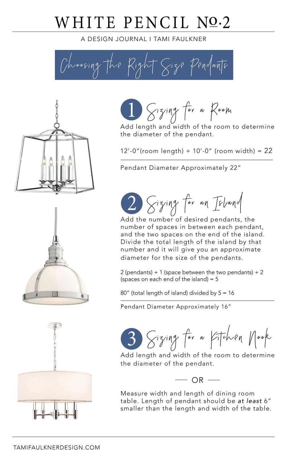 tami faulkner design tips for choosing pendants