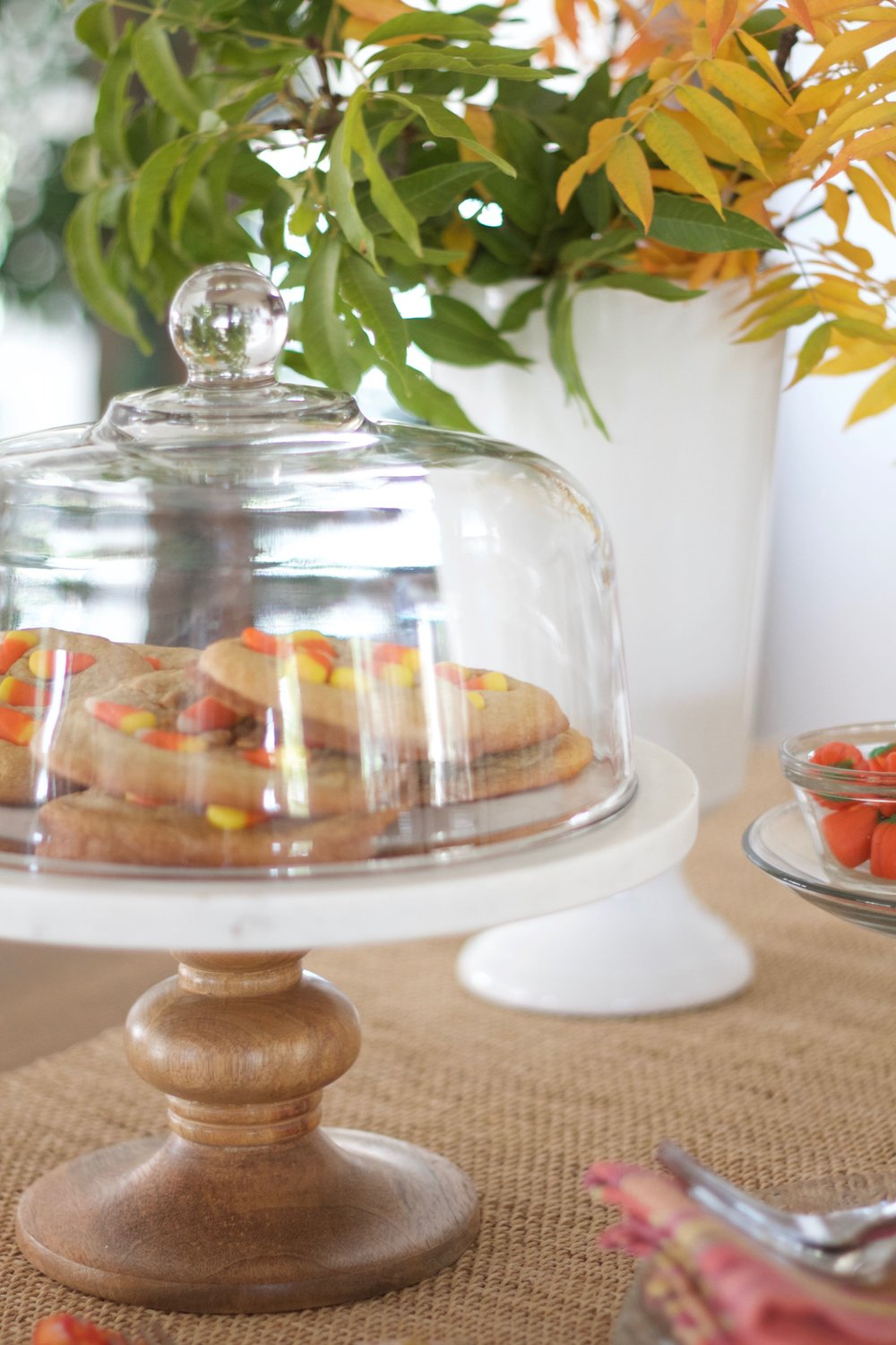 butterscotch candy corn cookies