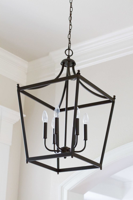 black lantern pendant