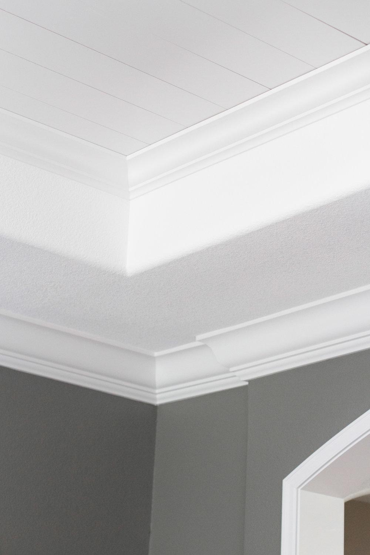 shiplap ceiling