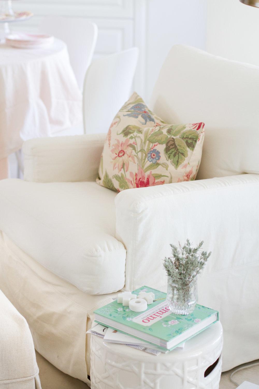 tami faulkner design floral pillow