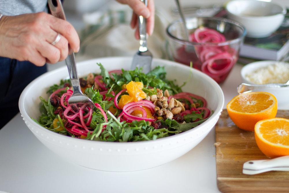 tami faulkner design citrus salad