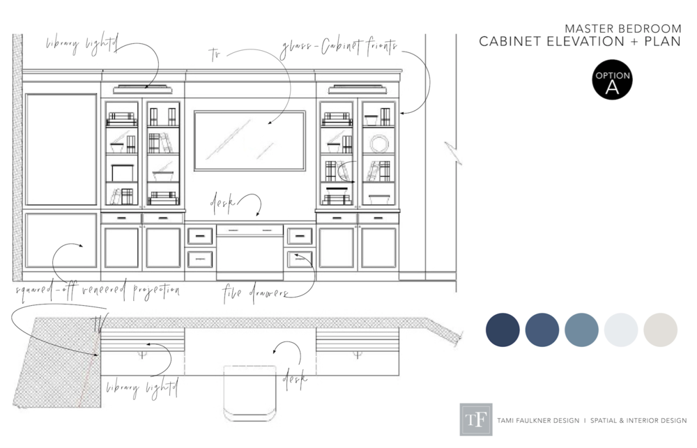 tami faulkner design custom cabinet design