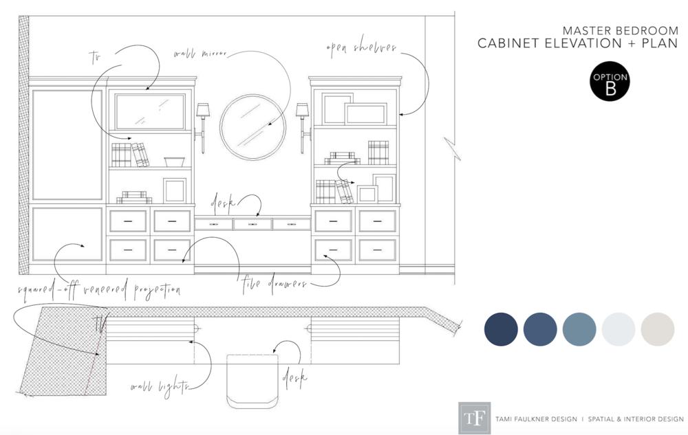 tami faulkner design custom desk cabinets