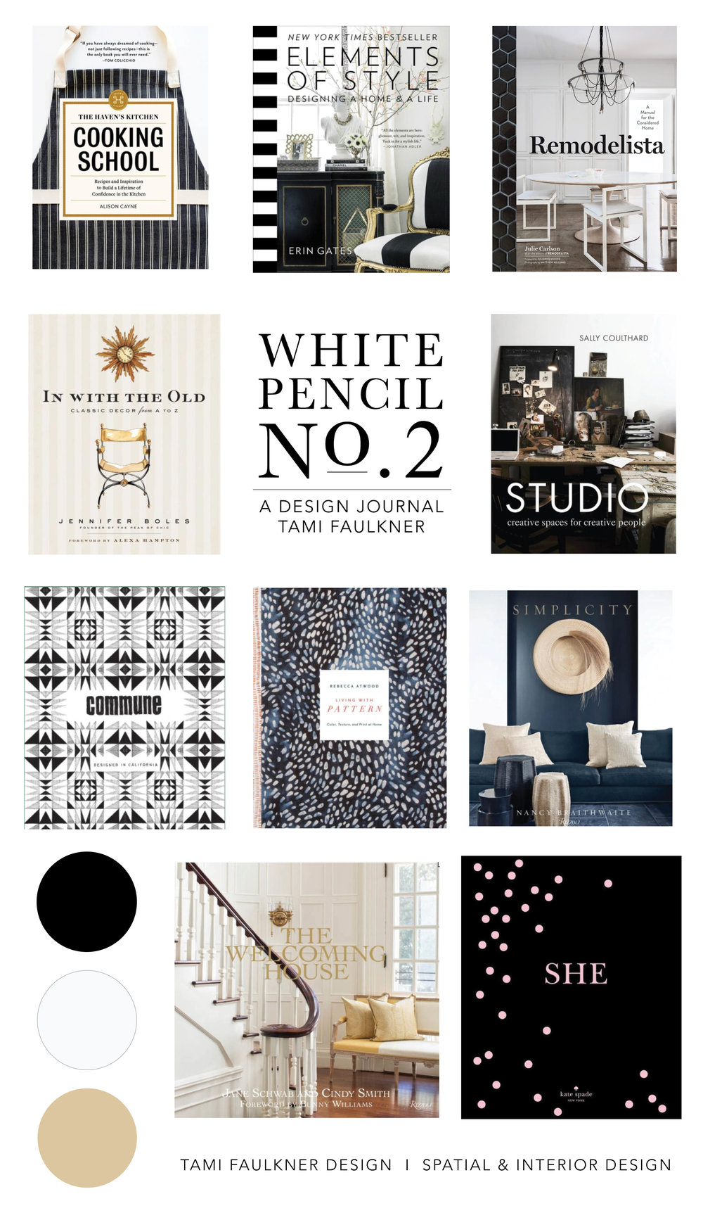 tami faulkner design favorite design books