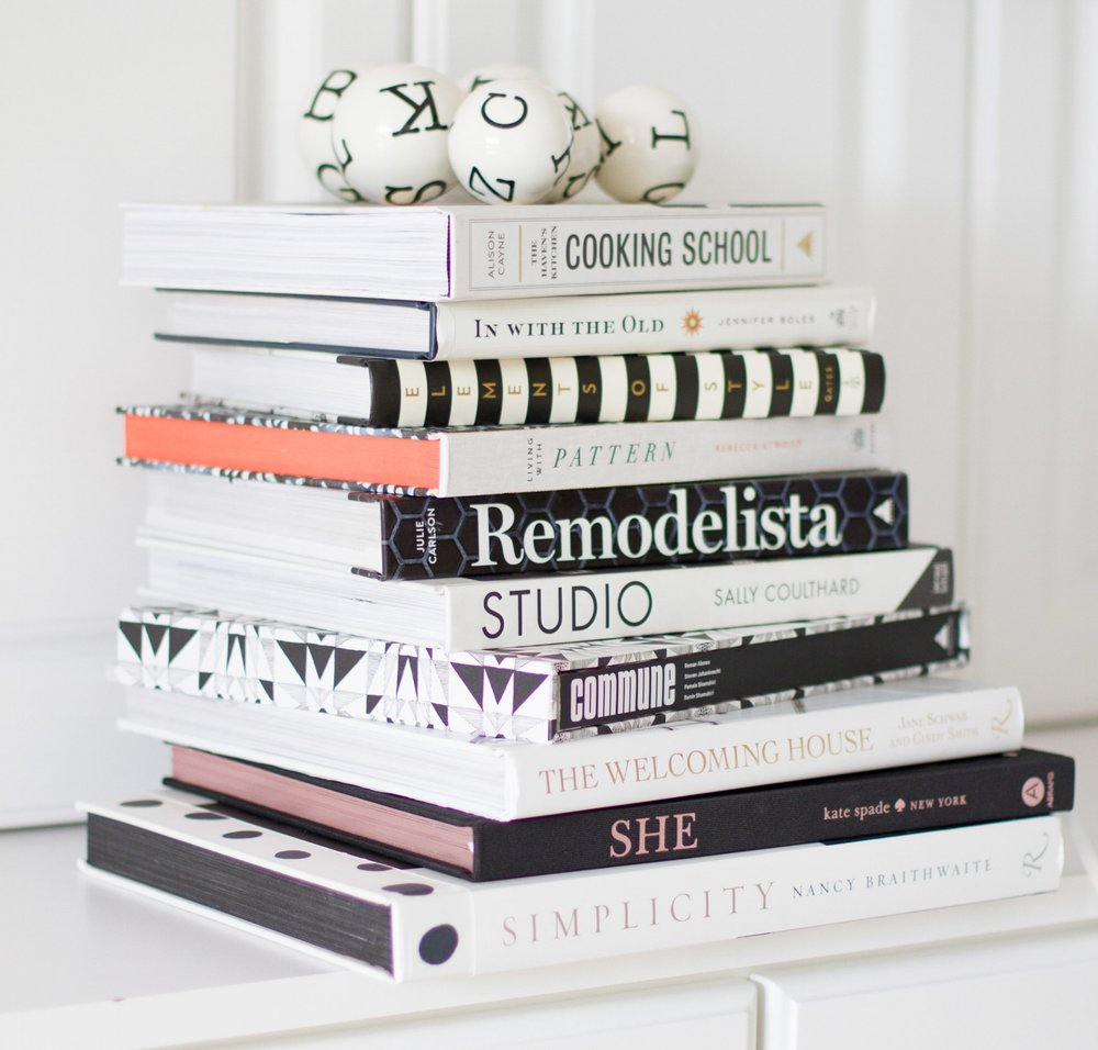 tami faulkner design how to decorate with books