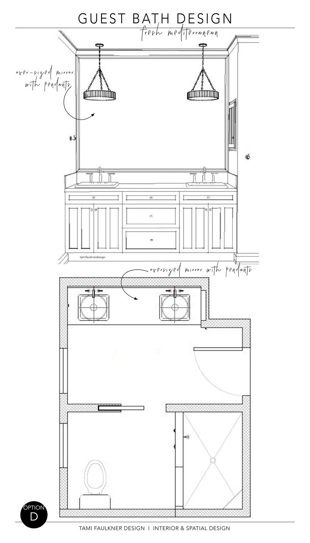 BATHROOM MAKE-OVER AT PROJECT GATE HILL — White Pencil No. 2