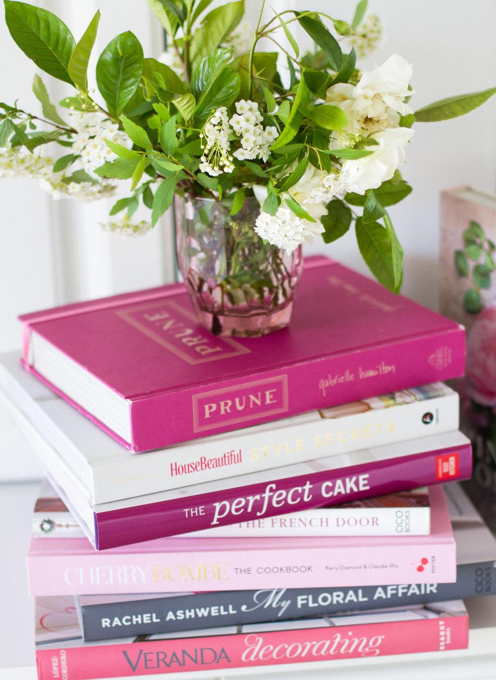 tami faulkner design favorite pink books