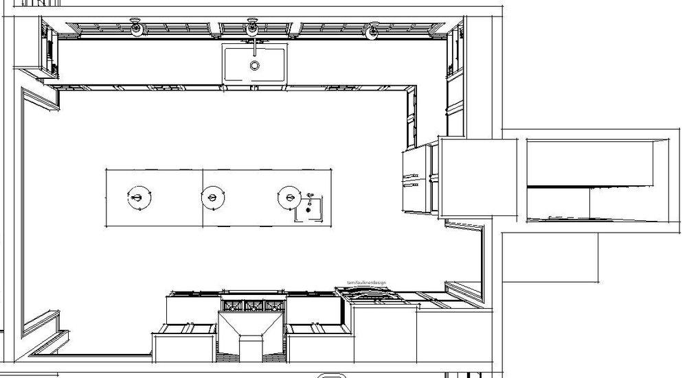 best kitchen floor plans for remodels