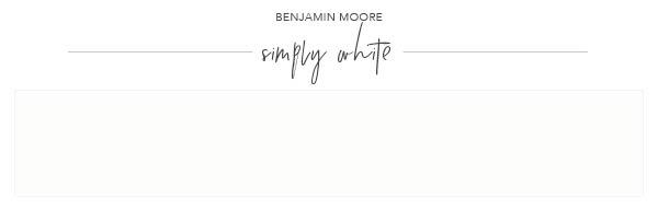 bm simply white