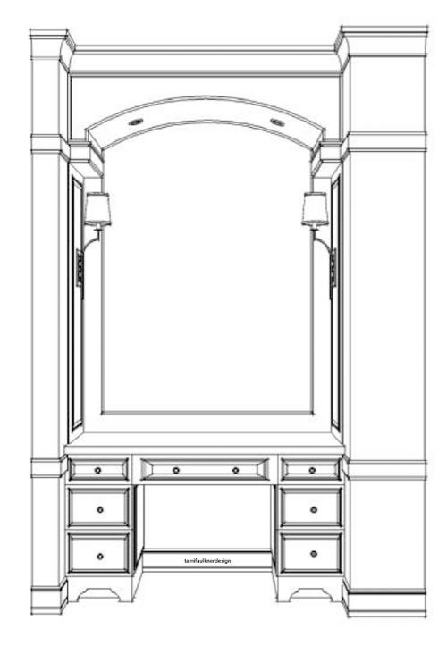 master bathroom design