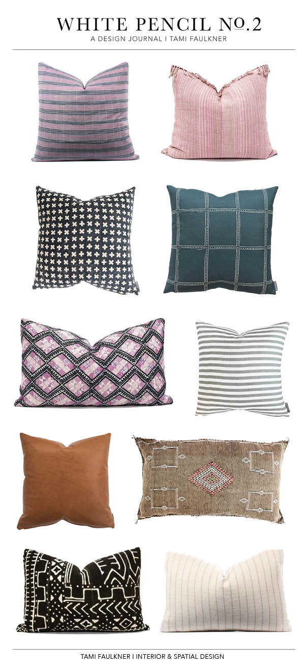favorite designer pillows