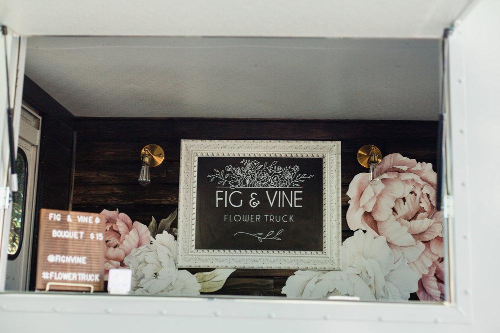 fig & vine flower truck