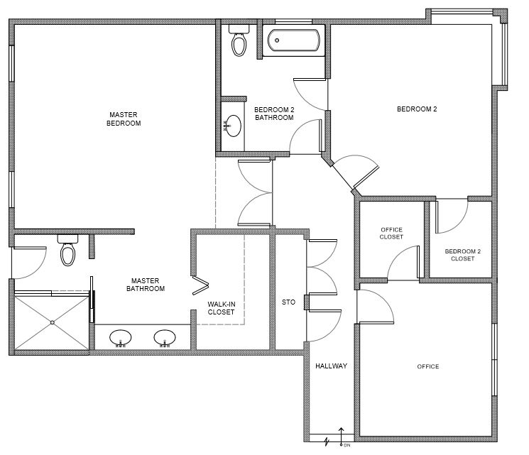 before floor plan