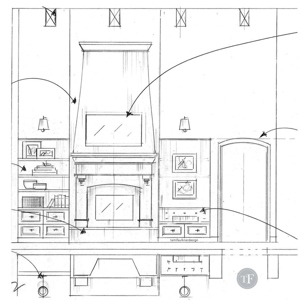Tami Faulkner design, fireplace design, Utah