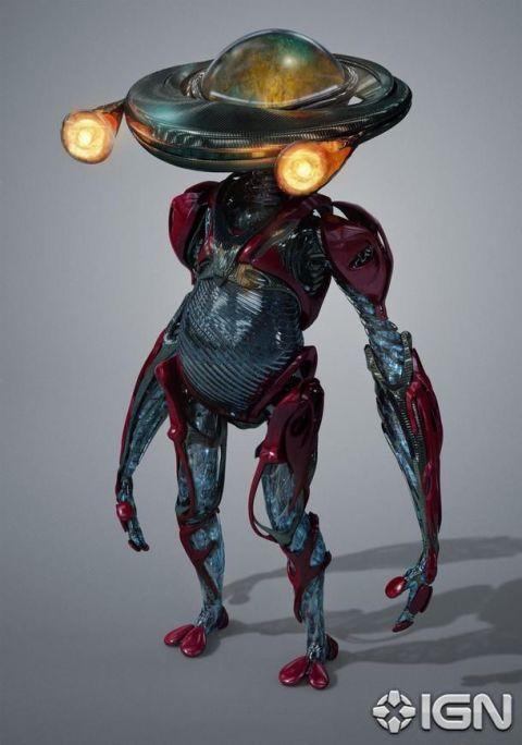 Alpha 5 voiced by Bill Hader
