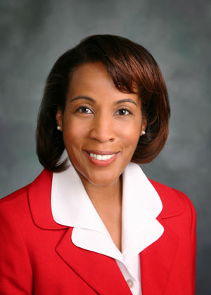 Phyllis Randall, Chair of the Loudoun County Board of Supervisors