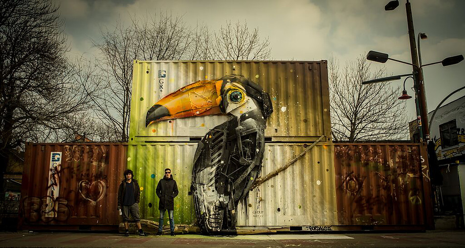 urban spree | bordalo ii