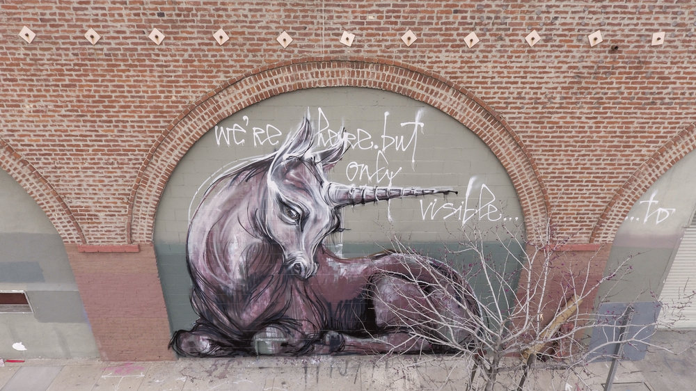 fringe unicorns | herakut