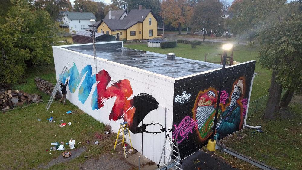 flint public art project -