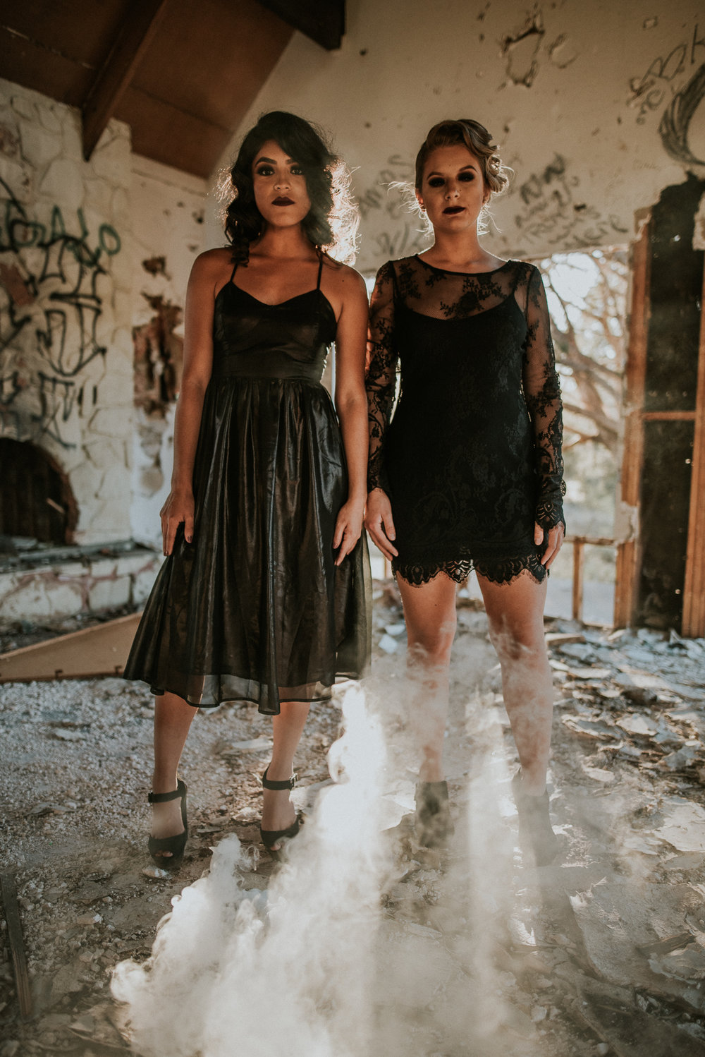 American Horror Story Styled Shoot in Phoenix AZ