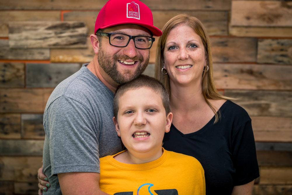 Shane, Sarah & Cole Hamilton, Co-Founders
