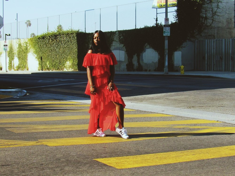 Captured in Los Angeles, CA - Shot by  Nareasha Willis
