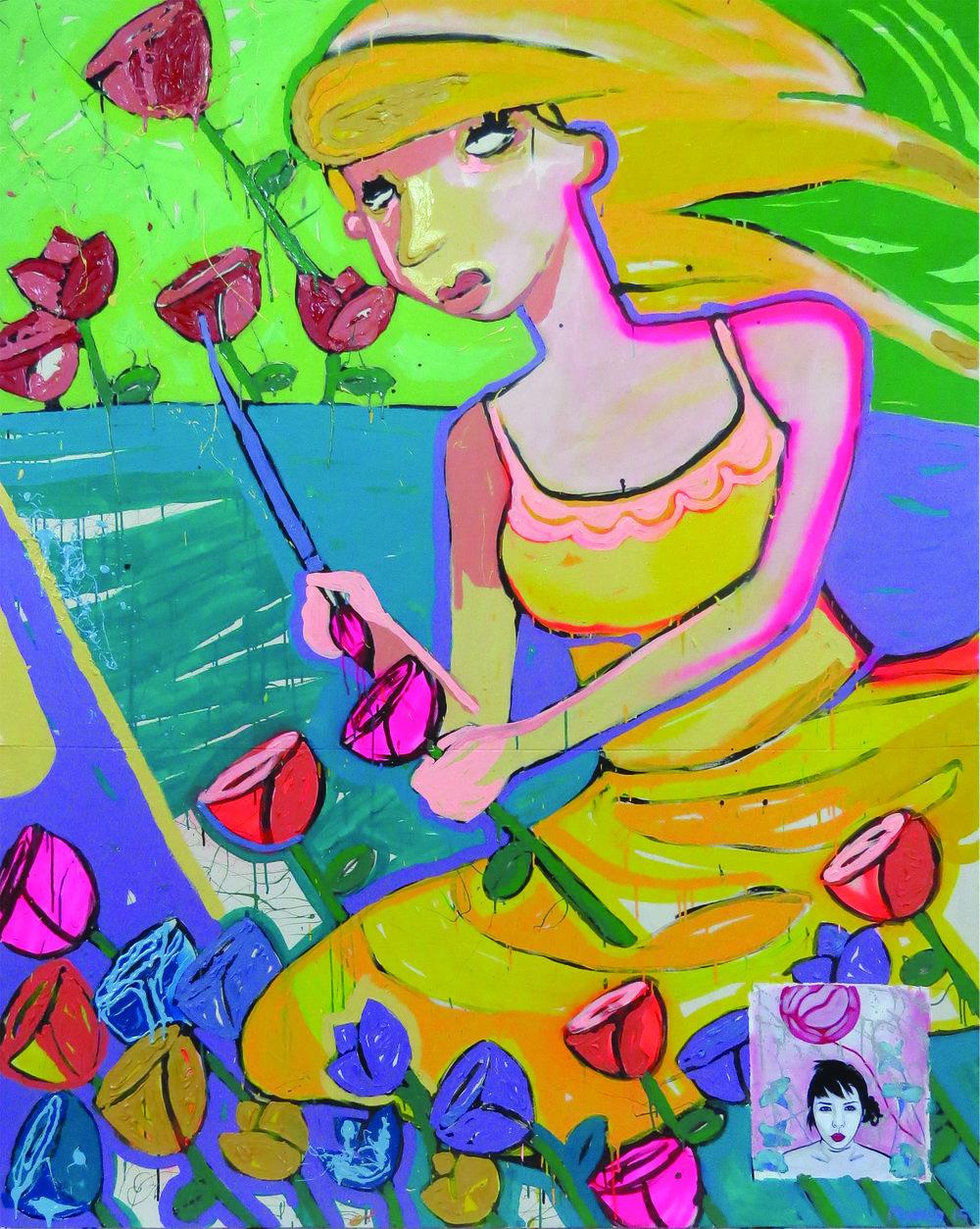 """Marco Arturo Herrera Orbe - """"Las ultimas flores rojas"""", 2016"""