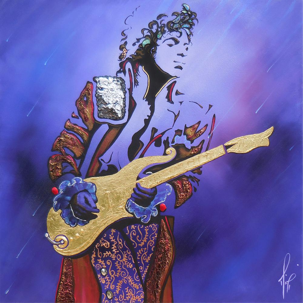 "Mimi Stuart, ""Purple Reign"", 2016"