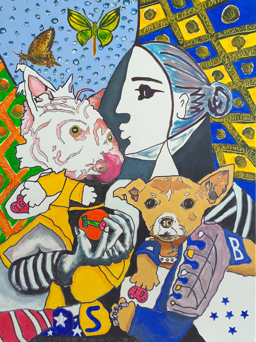 "Greg Jankowski, ""Canine Character"", 2016"