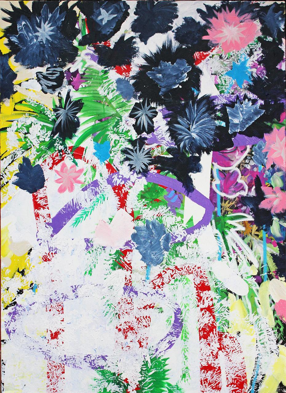 "Miguel Fabrego, ""The Avant Garden"", 2016"
