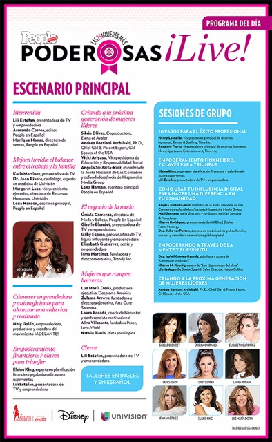 Zulema Arroyo-Farley was a guest panelist at People en Español's Poderosas Live Event (a day of inspiration with the most powerful hispanic leaders) on Saturday, September 17, 2016 along with celebrities, entrepreneurs, media executives and authors.
