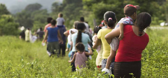Central Americans endure a harsh journey in order to escape violence
