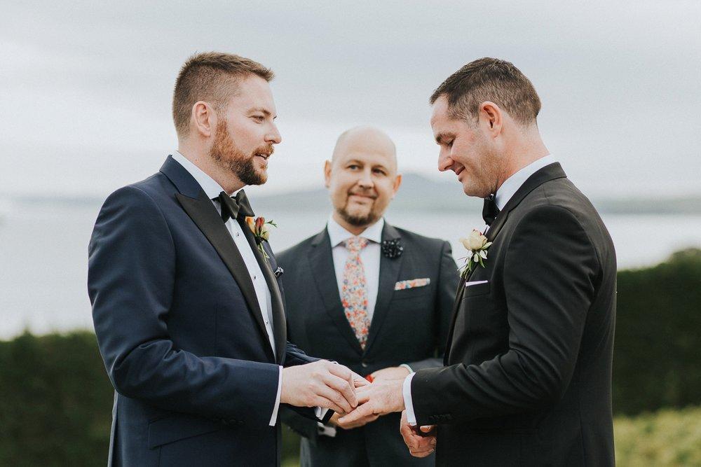 wedding ceremony waiheke