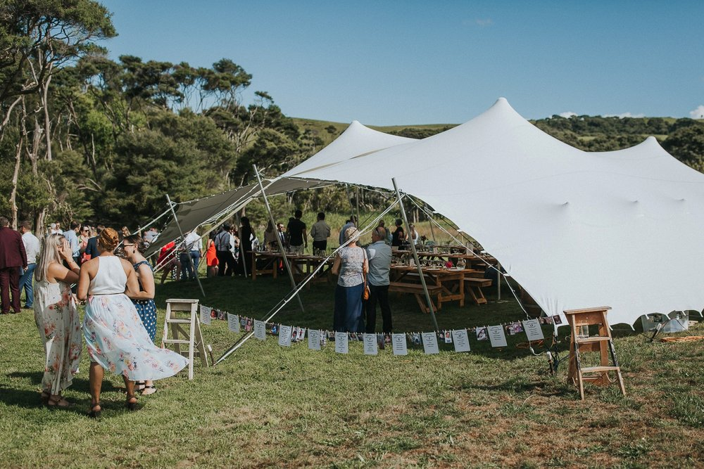 marquee wedding, stretch tent