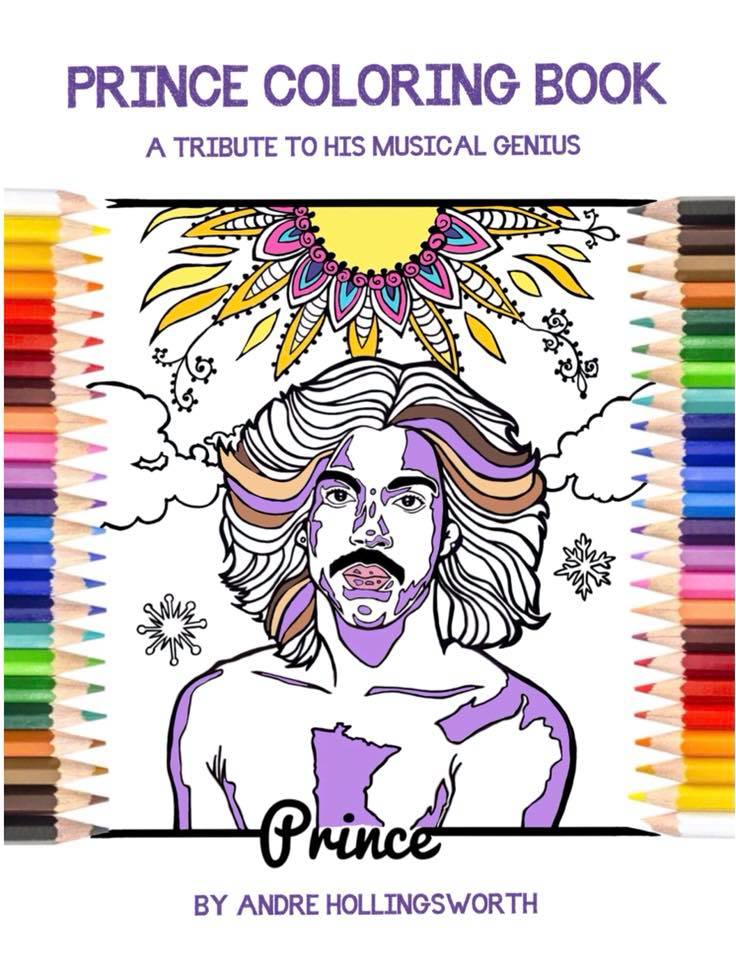 Prince Coloring Book Release Party People Of Paisley Park