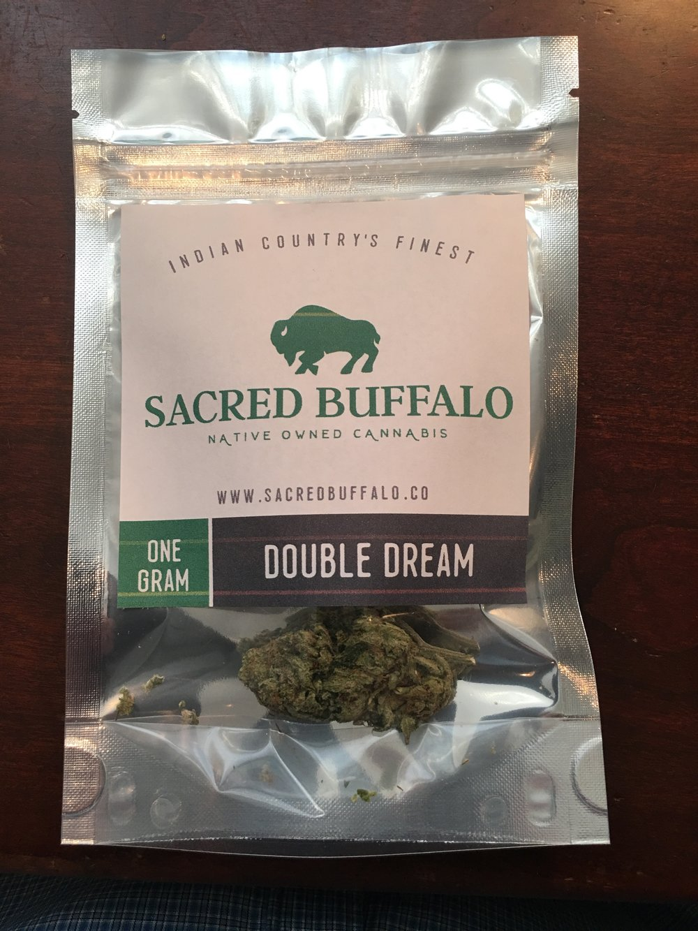 Sacred Buffalo - Double dream - sample 1g photo.jpg