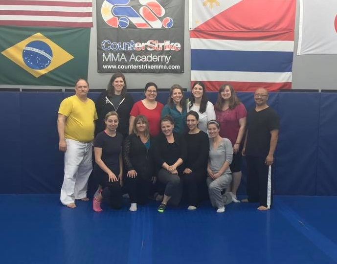 DGAN Self-Defense Class