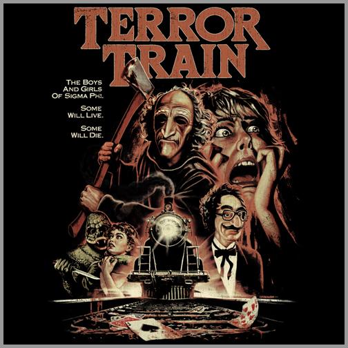 Terror Train Poster Fan Art