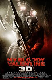 8. My Bloody Valentine 3D (2009) - A remake that takes the film it is inspired by and truly flips and reverses it. A dark and gritty take on the Harry Warden tale, this 2009 3D fare is menacing, brutal and almost terrifying. A great example of what can be done with the power of 3D to tear a part an unlikeable cast. Watch on a date or in a group, just make sure you watch it!