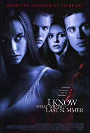 4. I Know What You Did Last Summer (1997) - Kevin Williamson strikes again after Scream, this time in a small fishing town with an urban legend for a killer. Amazingly horrible fashion choices aside, this movie does almost everything right in regards to a slasher.
