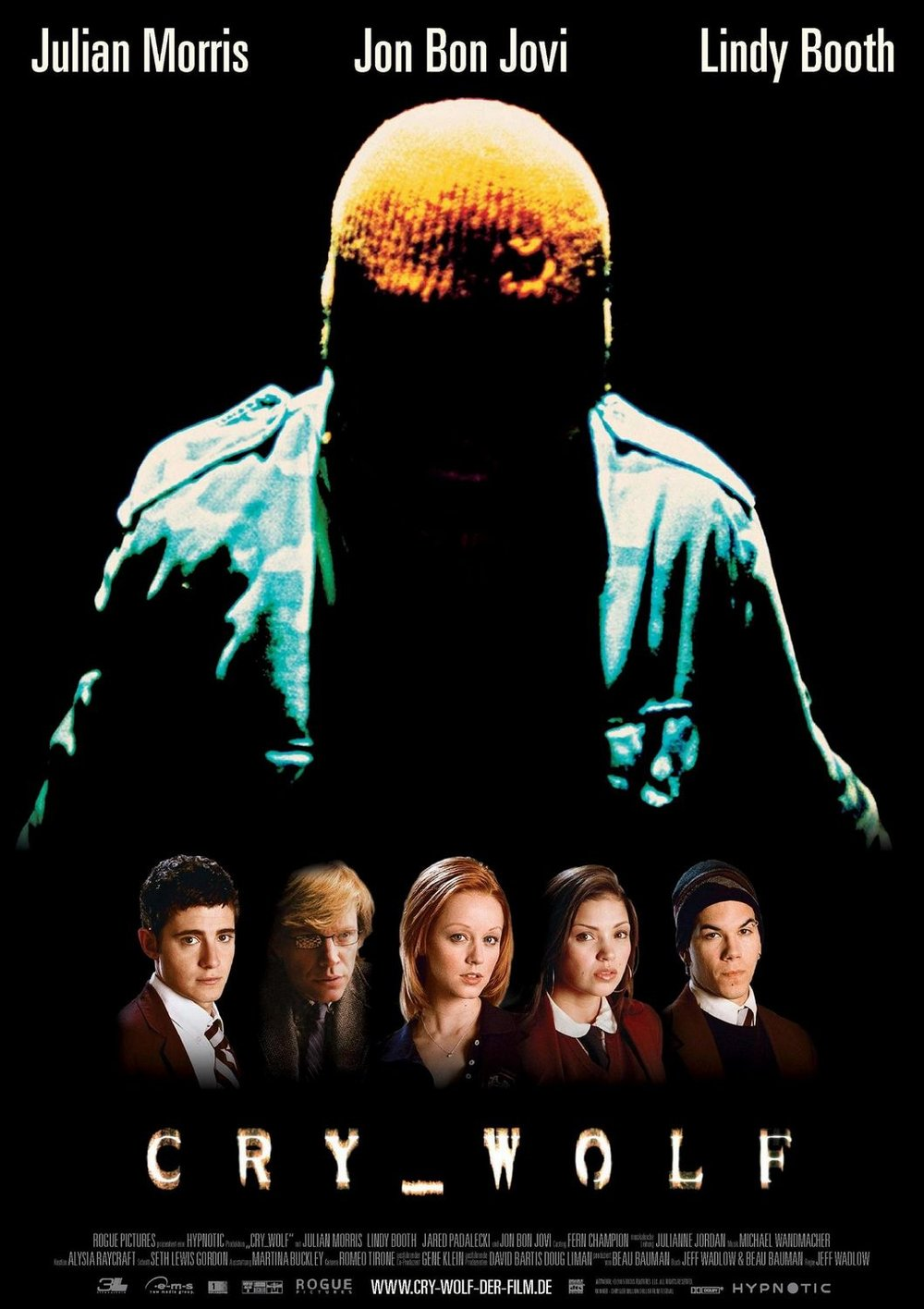 30. Cry Wolf (2005) - Guilty for dating itself by using early internet era gimmicks, Jeff Wadlow's Cry_wolf is still a charming little piece of slasher mind games. Capitalizing on its whodunit approach, it's the end of this early aughts thriller that forces it to the near bottom of our list.