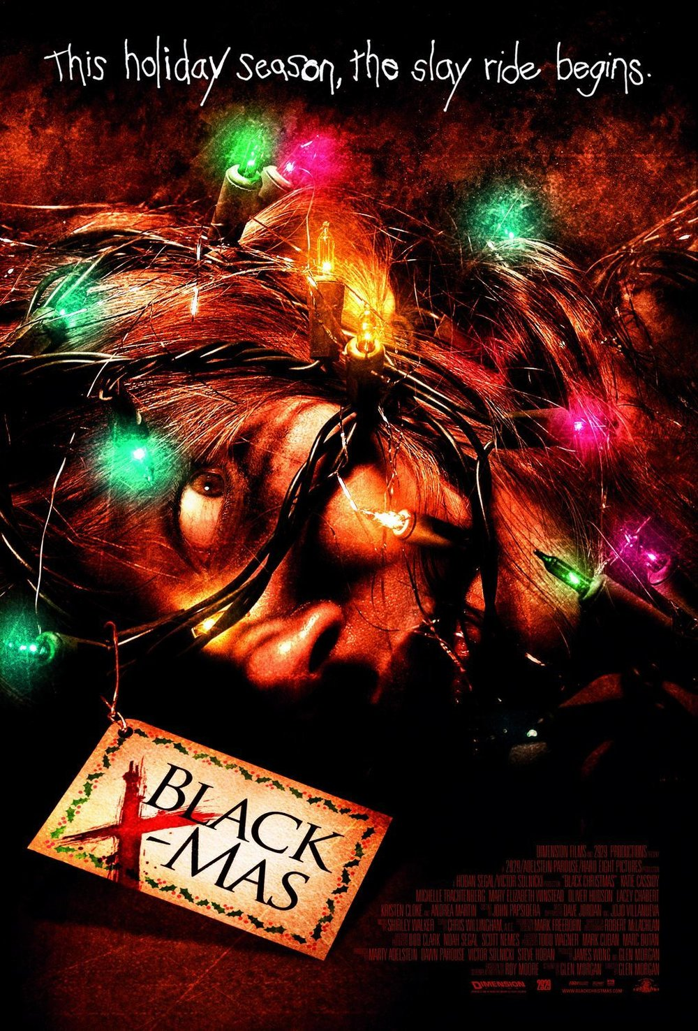 14. Black X-Mas (2006) - Glen Morgan's remake of Black Christmas realizes it can't be the original so instead adds a twisted back story and some truly skincrawling plot beats. While it has a few moments of misplaced misogyny from the hands of bad producers, it still manages to be a slick, brutal remake with a mean spirit and some excellent set piece kills.