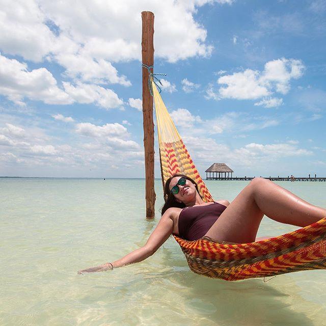 Mi guerita 😘 en Holbox, Quintana Roo 🇲🇽
