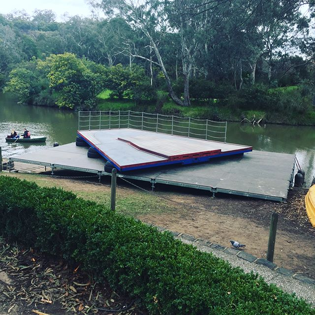 Location installation completed, the team has done it again! #location #kewboathouse #abctv #getkraken #teamwork #installation #onsitebuild
